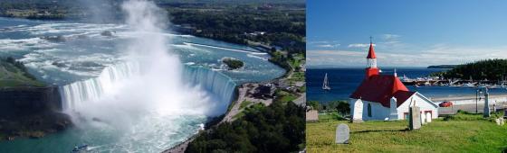 CANADA «de Niagara à Tadoussac»