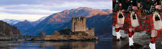 ECOSSE  « Lochs – Castles and Tatoo »