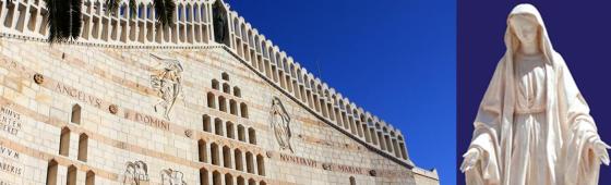 ISRAEL  «sur les pas de la Vierge Marie»