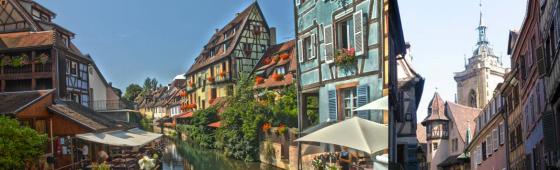 COLMAR  «Capitale des Vins d'Alsace»