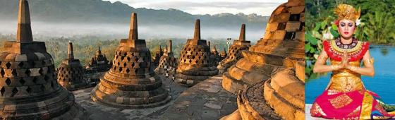 """INDONESIE """"Java, Bali et Célèbes"""""""