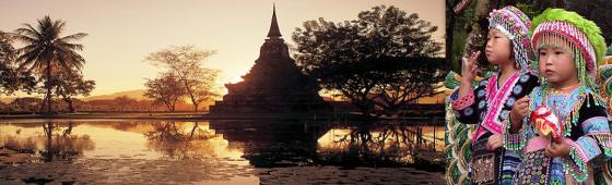 "THAILANDE  ""Pays du Sourire"""