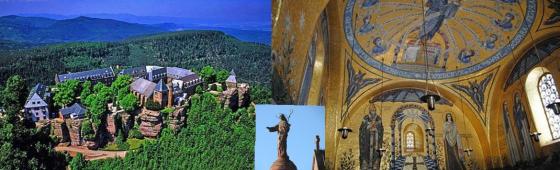 """MONT SAINTE ODILE """"Patronne de l'Alsace"""""""