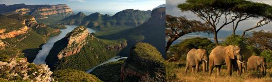 """AFRIQUE DU SUD """"autour du Parc Kruger"""""""