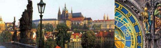 """PRAGUE    la """"Ville aux cent clochers"""""""