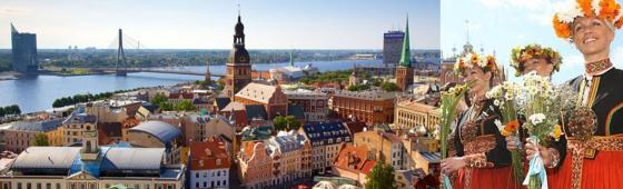 "PAYS BALTES ""Estonie, Lituanie, Lettonie"""