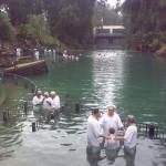Israël - Baptèmes à Yardenit