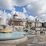 Angleterre - Londres - Trafalgar Square