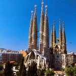 Espagne - Barcelone -Sagrada Familia