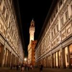 Italie - Florence - Cour des Offices