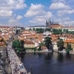 Rép. Tchèque - Prague - Pont Charles - le Château