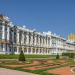 Russie - St Petersburg - Palais Catherine