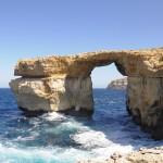 Malte - Falaises Dingli - La Grotte Bleue