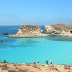 Malte Ile de Comino - Lagon Bleu