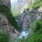 Monténégro - Kolasin - Canyon de Moraca