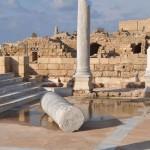 Césarée - Temple d'Hérode