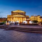 Moscou - Théatre Bolchoï
