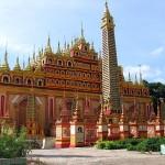 Birmanie - Monywa - Pagode Thanbodday