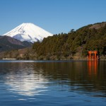 Japon - Nagoya - Lac Ashi et Fujiyama