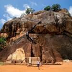 Sri Lanka - Sigiriya - Le rocher du Lion