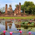 Thailande - Sukhotai - Wat Sra Sri