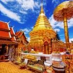 Thailande - Chiang Mai - Temple Doi Suthep
