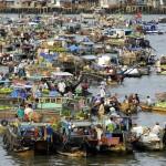 Vietnam - Can Tho - Marché Flottant