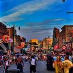 USA - Tennessee - Memphis - Beale Street